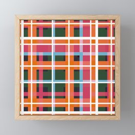 Geometric Shape 05 Framed Mini Art Print