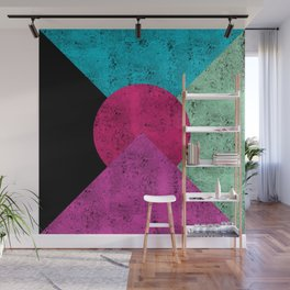 Colorful Abstract Geometric Background Wall Mural