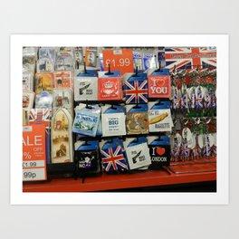 Sexy Brits Art Print