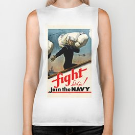 Fight let's go ! Join the Navy Biker Tank