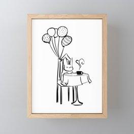 Invitation Framed Mini Art Print
