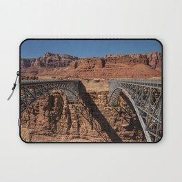 Navajo_Bridge - Marble_Canyon, Arizona Laptop Sleeve