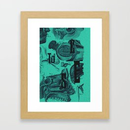 to see... Framed Art Print