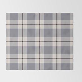 big light weave monochrome Throw Blanket