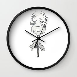 Sucker Wall Clock