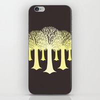 gondor iPhone & iPod Skins featuring electricitrees by freshinkstain