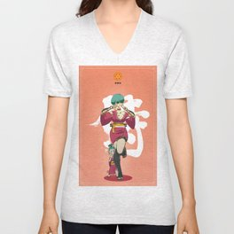 Dragon Ball Bushido : Bulma Unisex V-Neck