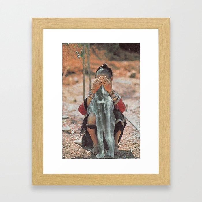Cascades Framed Art Print