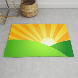 Sunshine Bright Rug