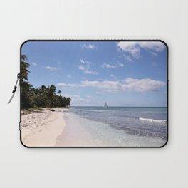 Stranded on Paradise Laptop Sleeve