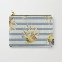 Feather line Carry-All Pouch