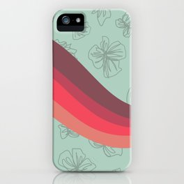VHS Retro Gradient 5 iPhone Case