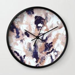 Skylar Abstract Wall Clock