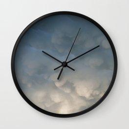 Mammatus Rainbow Wall Clock