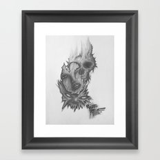 3 Faces Framed Art Print