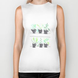 """Mini Terrariums"" Biker Tank"