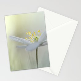 Irresistible Wood Anemone.... Stationery Cards