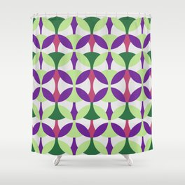 SEVENTIES PATTERN  Shower Curtain
