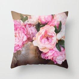 Enduring Romance Throw Pillow
