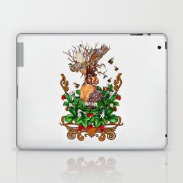Woodland Rabbit King Laptop & iPad Skin