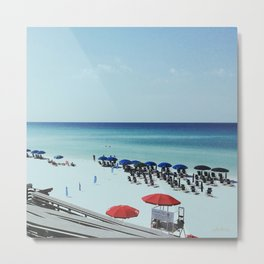 Day at the beach serie #2 Metal Print