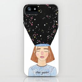Dreaming, Galaxy Girl - Mind Exploration iPhone Case