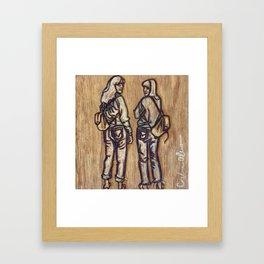 Unintentional twinning Framed Art Print