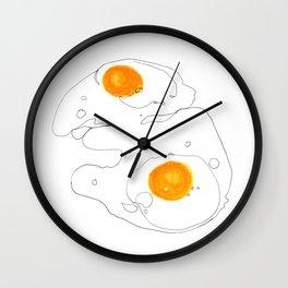 Sunny Side Up Wall Clock