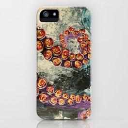 Octopus wave iPhone Case