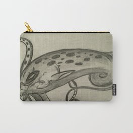 Sketch of the King Kraken Carry-All Pouch