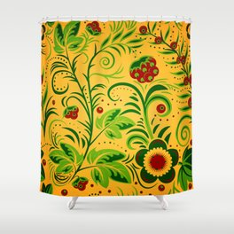 Ornament folk Shower Curtain