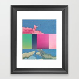 Untitled 20151118f (Arrangement) Framed Art Print