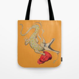 Chinese Dragon with Mao's head Tote Bag
