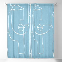 Abstract line art 38 Blackout Curtain