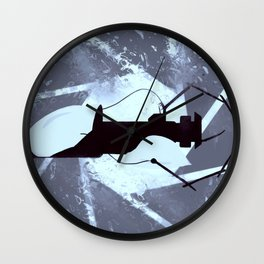 Portal2 Gun blue Wall Clock