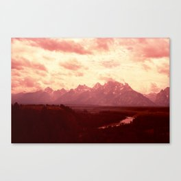 Fiery Teets Canvas Print