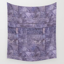 Purple wall Wall Tapestry