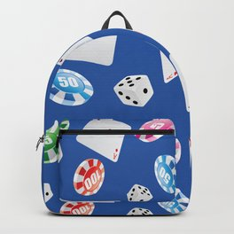 #casino #games #accessories #pattern 6 Backpack