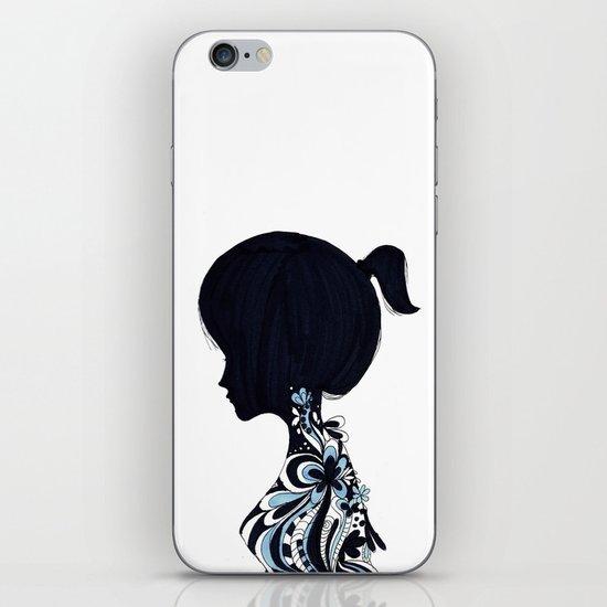 living lady iPhone & iPod Skin