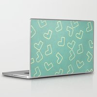 socks Laptop & iPad Skins featuring Socks by sinonelineman