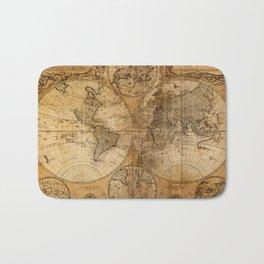 World Map 1746 Bath Mat