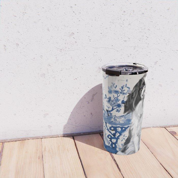 Japanese Chin Travel Mug