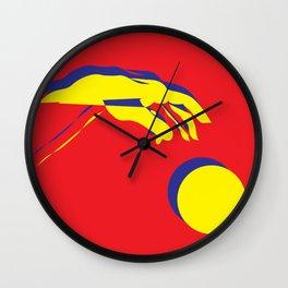 The creation of Adam I Wall Clock