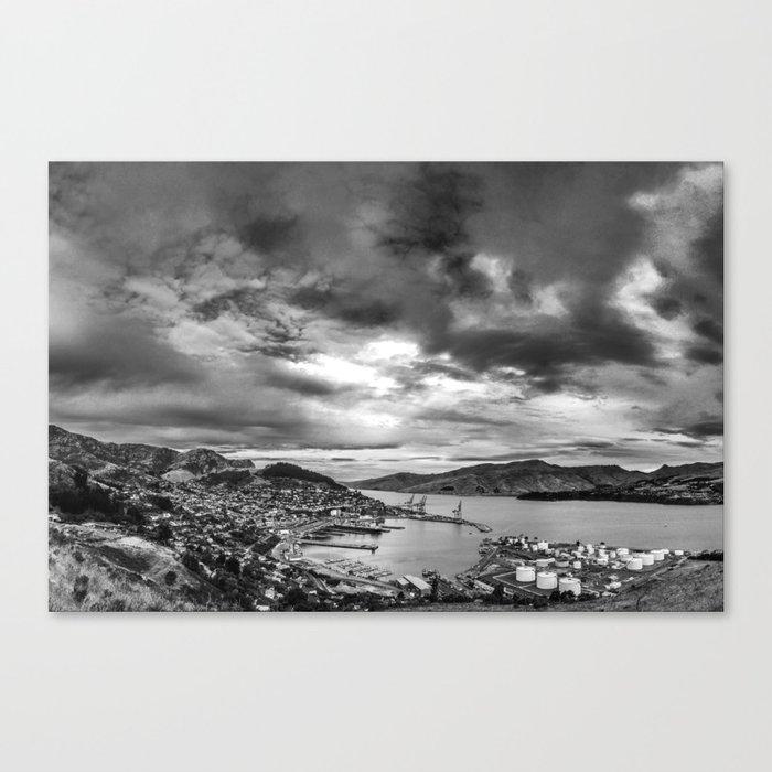Lyttelton Harbour Skies Canvas Print