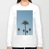 palm trees Long Sleeve T-shirts featuring Palm Trees by Gerard Puigmal