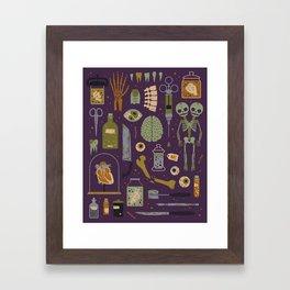 Odditites Framed Art Print