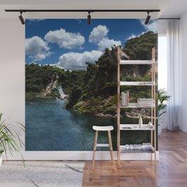 Frying Pan Lake, New Zealand Landscape Wall Mural