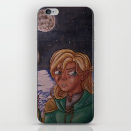 Moon Mage iPhone Skin