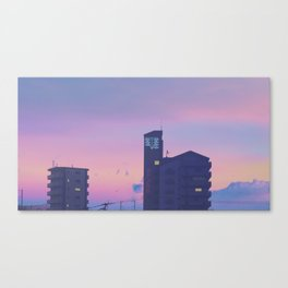 SEELE Over Hiroshima Canvas Print
