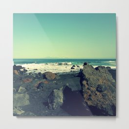 Sea Landscape Metal Print
